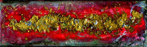 modern original abstract painting art gem
